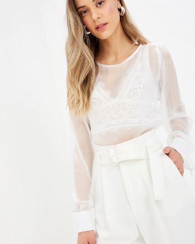 Блузка с длинным рукавом белая весенний Sugarlife