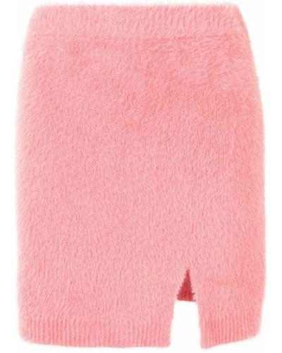 Розовая юбка мини с завышенной талией Alice Mccall