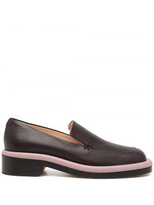 Loafers - brązowe Nicholas Kirkwood