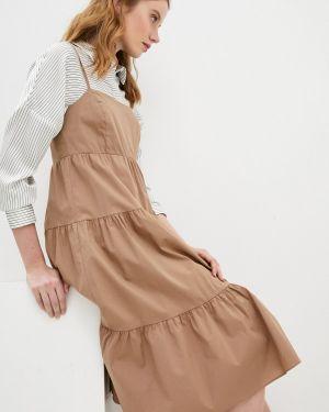 Бежевое платье Twist & Tango