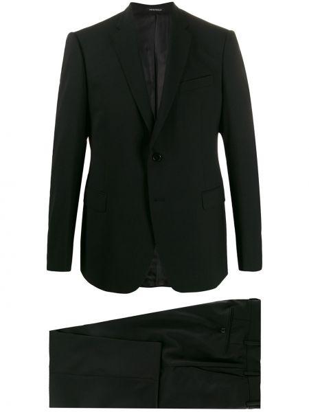 Klasyczny garnitur kostium wełniany Emporio Armani