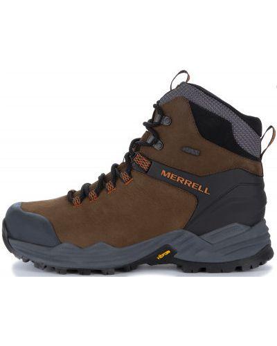 Треккинговые ботинки кожаные мембранные Merrell
