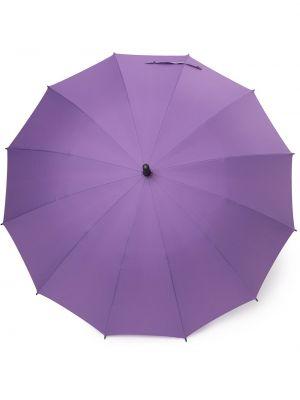 С ремешком прямой фиолетовый зонт с вышивкой Discord Yohji Yamamoto