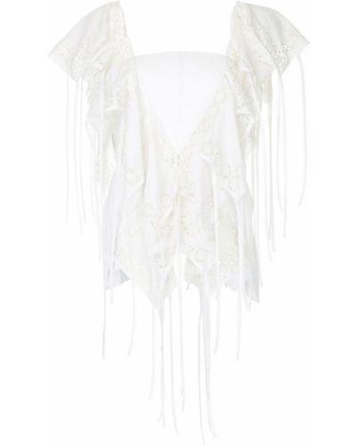Блузка без рукавов приталенная на молнии Kitx