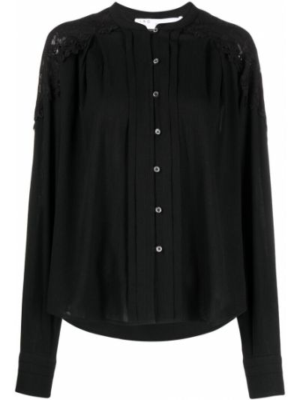 Кружевная блузка - черная Iro