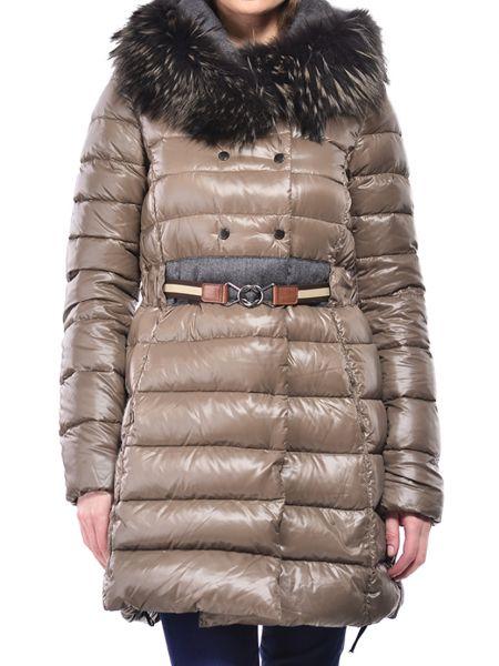 Шерстяная куртка - коричневая Duvetica
