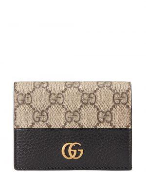 Portfel skórzany - czarny Gucci