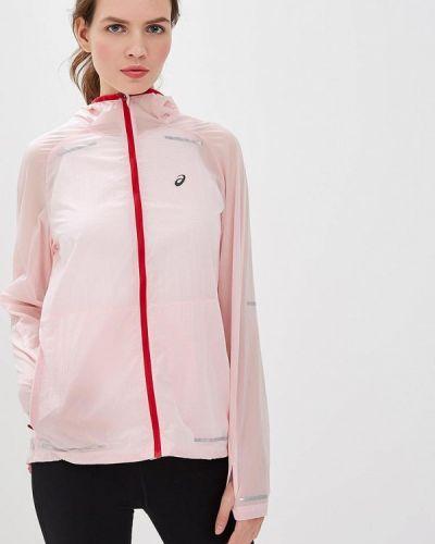Куртка осенняя розовая Asics