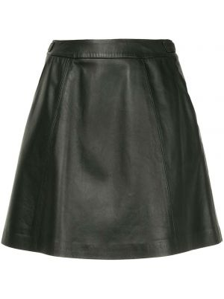Czarna spódnica mini skórzana Loveless