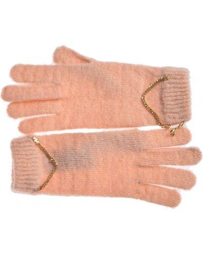 Перчатки розовый акриловые Patrizia Pepe