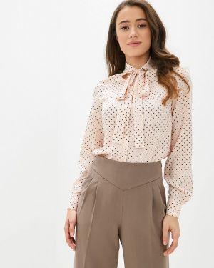 Блузка розовая с бантом Lezzarine
