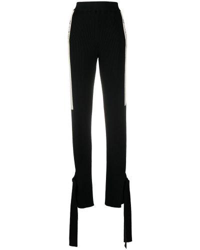 Czarne spodnie dresowe z wiskozy Off-white