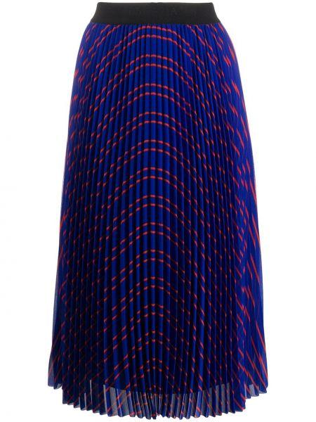 Плиссированная юбка миди с завышенной талией Escada Sport
