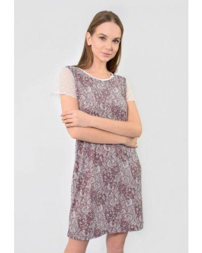 Платье - бордовое N.el.