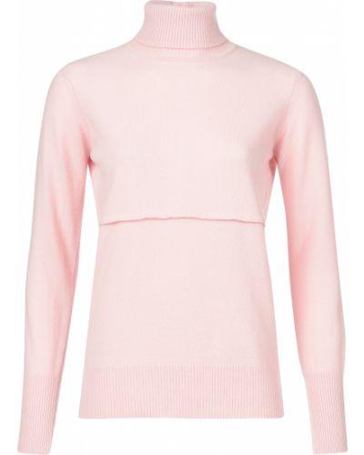 Розовый свитер Morgano