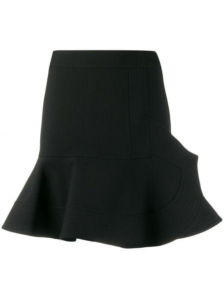 Юбка с завышенной талией с воланами Victoria, Victoria Beckham