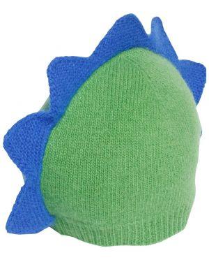 Prążkowany zielony kapelusz wełniany Il Gufo