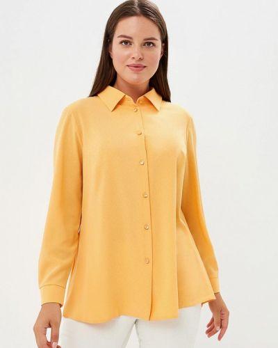Желтая блузка Lina