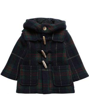 Płaszcz wełniany z nadrukiem Il Gufo