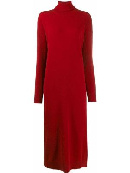 Платье миди платье-свитер красный Dsquared2
