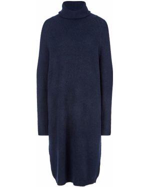 Платье платье-свитер с воротником Selected
