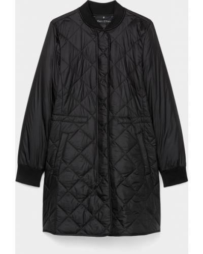Стеганое пальто - черное Marc O'polo