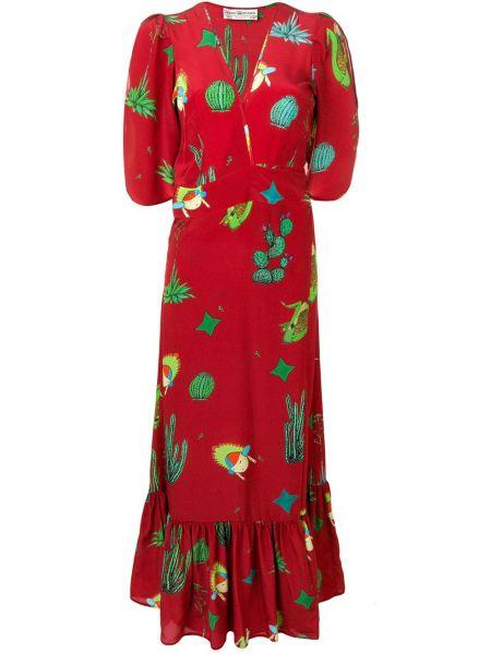 Приталенное платье мини с запахом с V-образным вырезом на молнии Jessie Western
