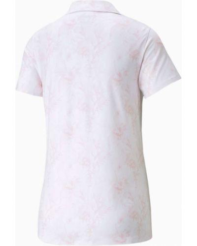 T-shirt - różowa Puma