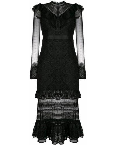 Платье на молнии с вырезом Three Floor