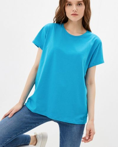 Голубая футболка с короткими рукавами D.s