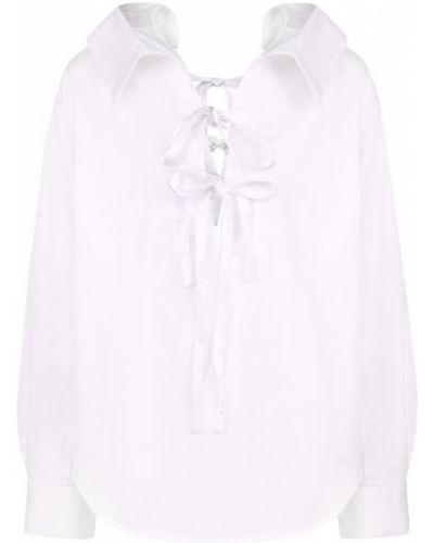 Блузка с длинным рукавом с бантом с завязками Clu