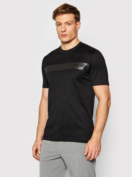 T-shirt - czarna Boss