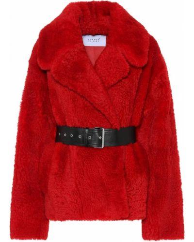 Зимняя куртка кожаная укороченная Common Leisure