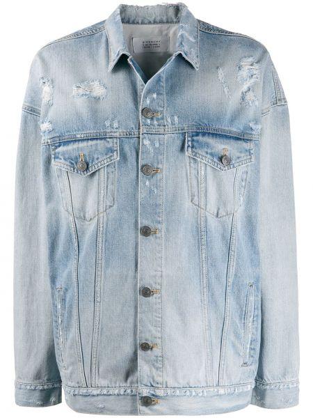 Джинсовая куртка оверсайз на пуговицах Givenchy