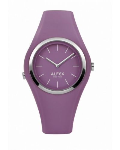Фиолетовые часы Alfex