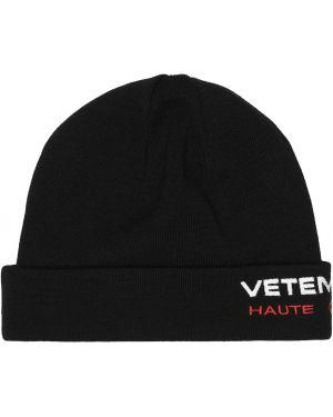 Czapka zimowa wełniany z logo Vetements