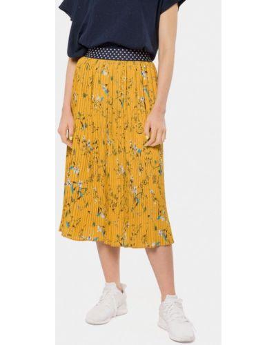 Плиссированная юбка желтый Mr520