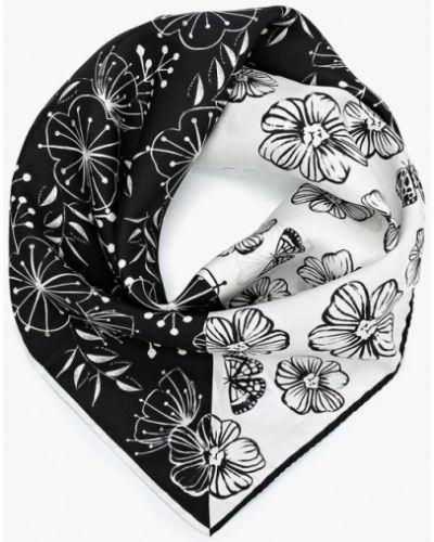 Черный платок носовой Furla