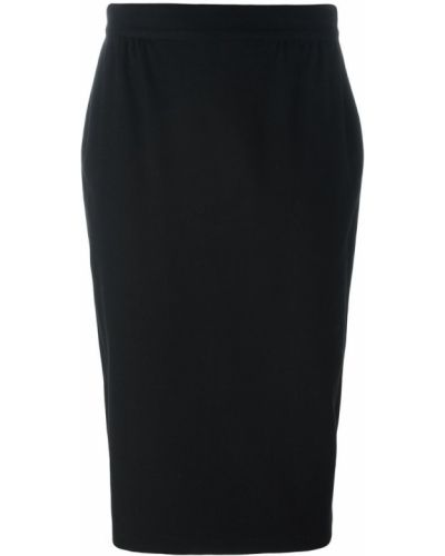 Юбка миди винтажная с поясом Versace Vintage