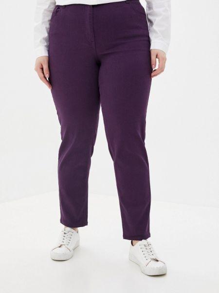Фиолетовые брюки узкого кроя Averi