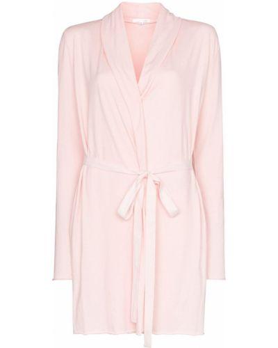 Хлопковый халат - розовый Skin