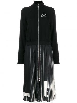 Плиссированное классическое платье Karl Lagerfeld