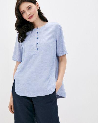 С рукавами свободная расклешенная блузка с коротким рукавом Finn Flare