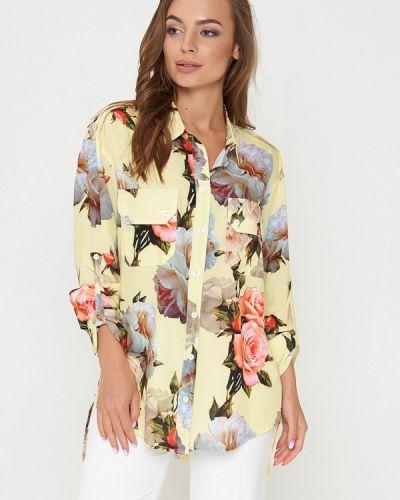 Блузка с длинным рукавом желтый весенний Sellin