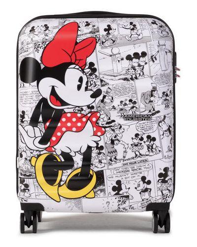Biała walizka American Tourister