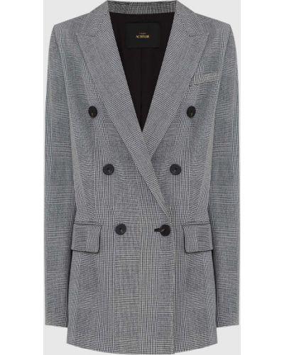 Пиджак в клетку - серый Twin Set Actitude