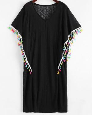 Пляжное платье купальное с V-образным вырезом Zaful