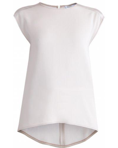 Блузка без рукавов из вискозы Agnona