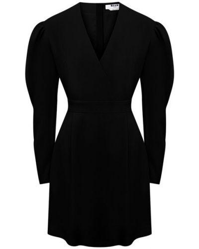 Платье с подкладкой из вискозы Msgm