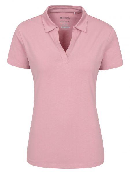 T-shirt materiałowa - różowa Mountain Warehouse